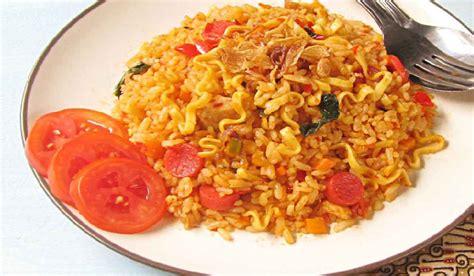 membuat nasi goreng mie resep membuat nasi goreng mawut balado inirecipes