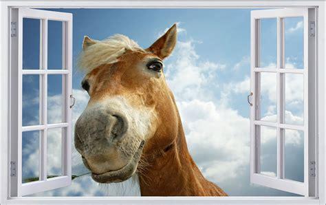 Pferde Wandaufkleber by Pferd Himmel Wolken Wandtattoo Wandsticker Wandaufkleber