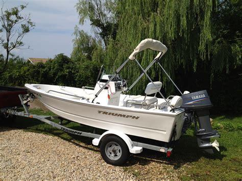 triumph boat trailer trumph 150 center console with trailer 2008 for sale for