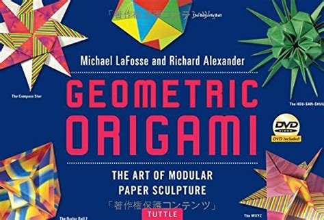 libro the art of rick libro geometric origami the art of modular paper sculpture di michael lafosse richard alexander