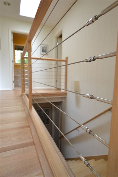 Cable Stair Railings Interior by Stainless Steel Cable Railing Modern Staircase Other
