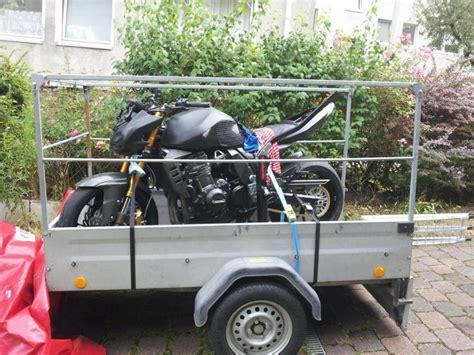 Motorrad Transport Ohne Anh Nger by Motorrad Verzurren Auf Dem Anh 228 Nger Seite 2 Transport