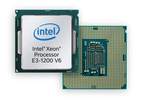 intel launches kaby lake based xeons the e3 1200 v6 family