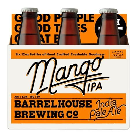 barrel house brewing barrelhouse mango ipa hits 12oz six packs for first time