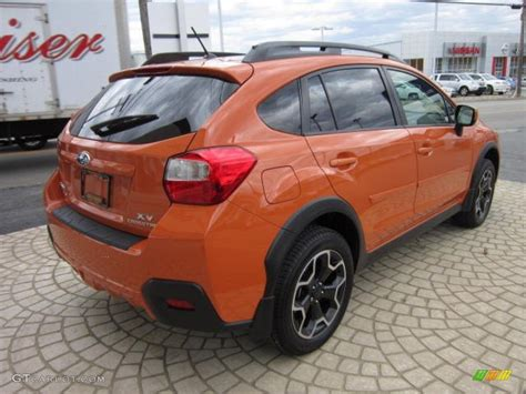 orange subaru crosstrek 2015 crosstrek white pearl limited autos post