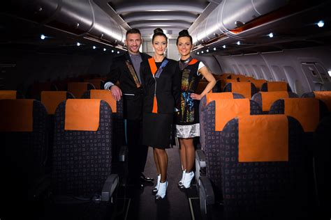 easy jet cabin crew easyjet s new cabin crew uniforms are covered in leds