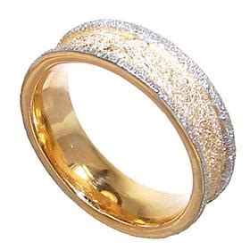 plain sterling silver gold plated ring size o 1 2 13 02 t