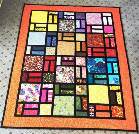 stained glass quilt designed by bob craftsy