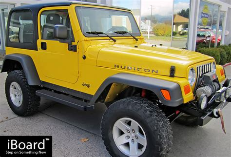Jeep Wrangler Running Boards Premium 5 Quot Black Iboard Running Boards Fit 87 06 Jeep
