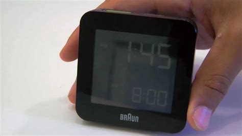 review braun global radio controlled digital alarm clock