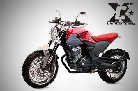 Verza Modifikasi by Modifikasi Honda Verza Jadi Scrambler Modern Cxrider