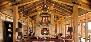 Rustic Log Home Decor by Log House Wooden D 233 Cor Rustic And Natural Decoration