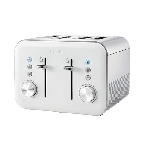 White 4 Slice Toaster And Kettle Set High Gloss Collection 1 7l Kettle And 4 Slice Toaster Set
