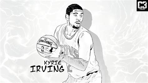 kyrie irving drawing related keywords kyrie irving
