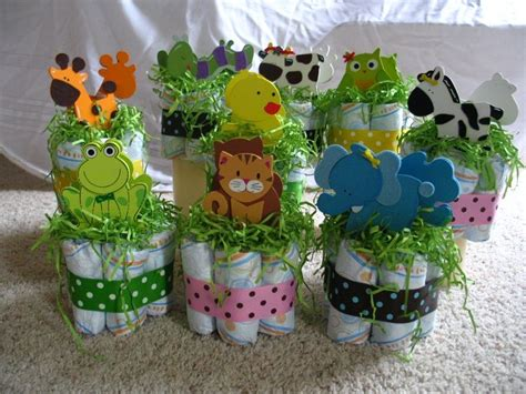 noah s ark centerpieces for baby shower shower