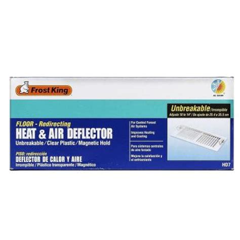 Heat Register Deflector by Heat And Air Deflector Hd7 The Home Depot