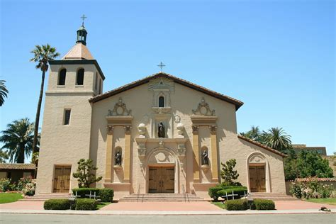 mission santa clara de asis floor plan the history of the california missions the enchanted manor