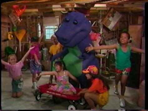 barney and backyard gang barney the purple dinosaur images barney and the backyard