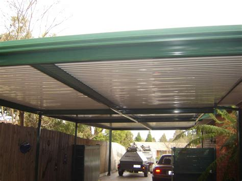 Car Port Roofing pdf diy attached flat roof carport plans attached