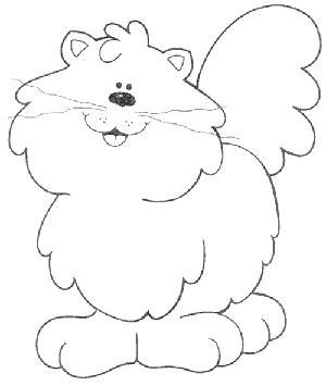 imagenes infantiles gatos dibujos de gatos para colorear y pintar
