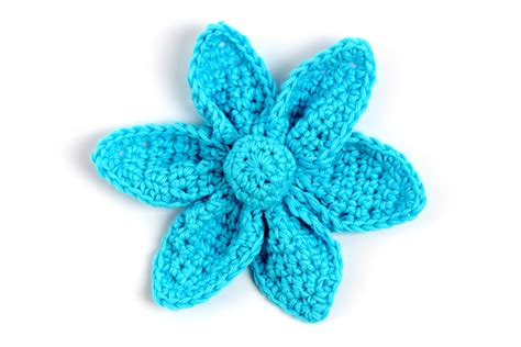 Origami Flower Patterns - free crochet pattern origami flower yarn twist