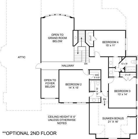 Westover House Plan The Westover Pbg Construction L L C