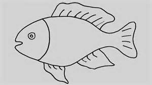 fish drawing kids free coloring pages art coloring pages