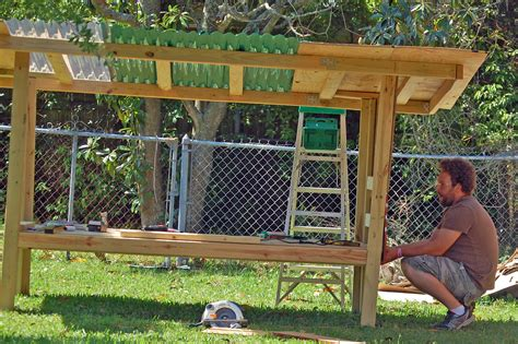 our diy chicken coop from recycled materials cage free mom