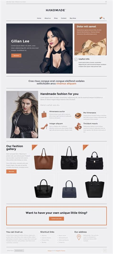 templates for handicrafts website 127 best best premium magento themes 2015 images on