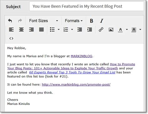 blogger outreach email top blogger outreach strategies 9 hacks i use to blast my