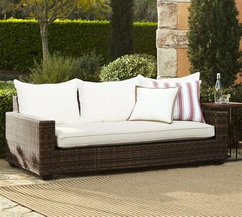outdoor sofa sale pottery barn outdoor furniture sale 30 off sectionals