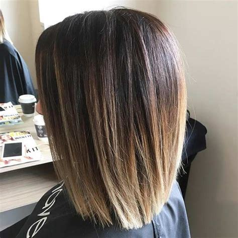 blunt cuts on women over 40 31 best shoulder length bob hairstyles long bob haircuts