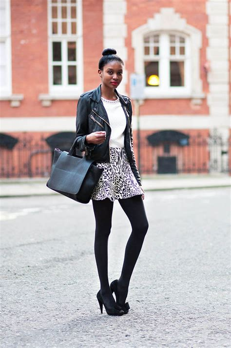 Topshops Take On The Prada Skirt by N Zara Bag Topshop Jacket Prada Heels Zara