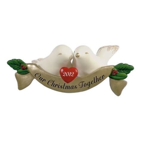 our christmas together hallmark keepsake ornament so