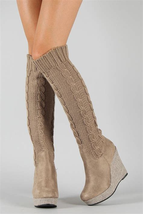 best 25 wedge boots ideas on