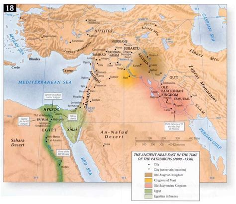 middle east map bible times timeline 2090 1970 bc abraham part 2