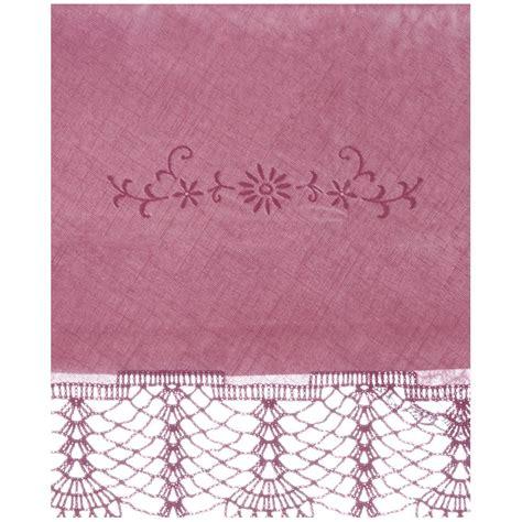 purple bijoux table l nappe en dentelle de vinyle purple 152 x 228cm par blanc