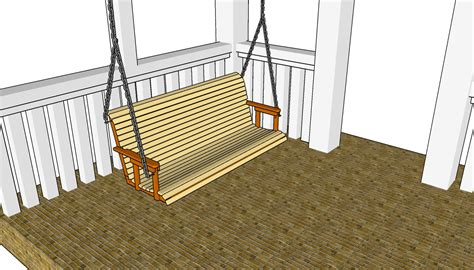 swing plan how to build a porch swing free outdoor plans diy shed