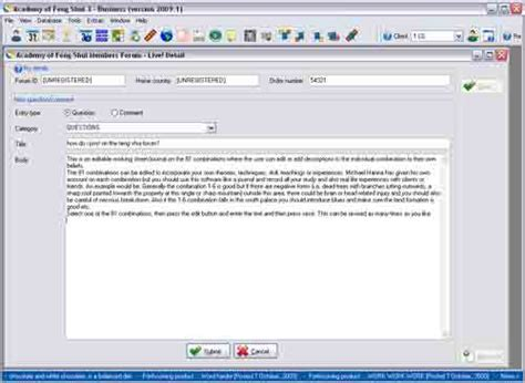 Software Consultant Description by Academy Of Feng Shui Software Consultant Version