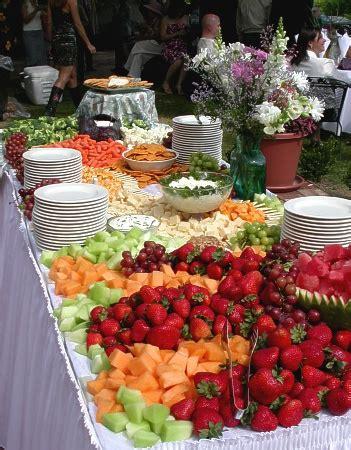 fruit table for weddings carpenter inn and conference center carpenter