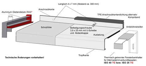 sohlbank aluminium wdvs fensterbanksystem rag 178 r 183 b 183 b aluminium profiltechnik ag