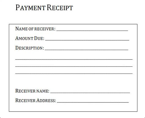 receipt template for services rendered sle receipt for services rusinfobiz