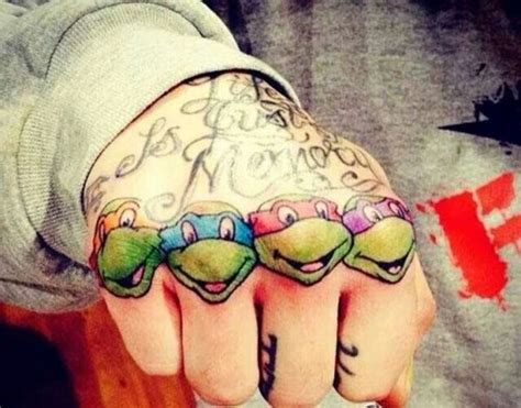 ninja turtles tattoo 50 turtle tattoos designs and ideas turtle