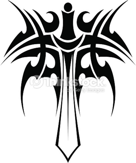 Tshirt Angle Size L Ld 90 Cm tribal with sword vector thinkstock