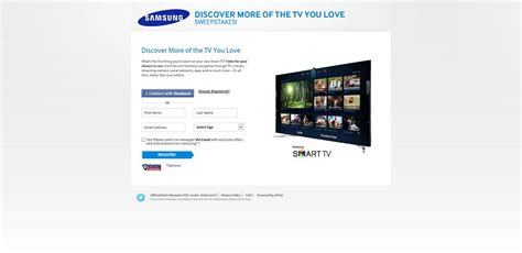 Sweepstakes Promo Text Message - samsung smart tv sweepstakes