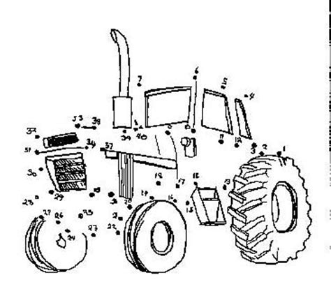printable dot to dot tractor dot to dot page print your dot to dot tractor page all