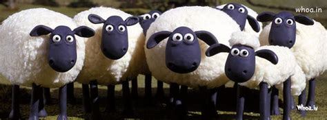 shaun  sheep hd fb timeline cover