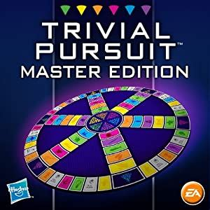 amazoncom trivial pursuit master edition electronic