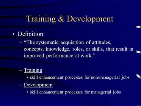 tutorial video meaning training developing employees human resource management