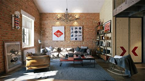 1 Bedroom Apartments In Portland Oregon 3 stylish industrial inspired loft interiors